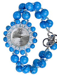 cheap -Women's Fashion Watch Quartz Jade Blue Analog Blue