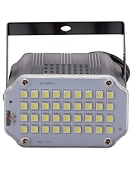 cheap -U'King 10 W LED Stage Lights Adjustable / Easy Install / Sound-Activated Cold White 110-240 V LED Beads / 1 pc / RoHS / CE Certified / FCC