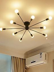 cheap -10-Light 122 cm Mini Style Flush Mount Lights Metal Sputnik Painted Finishes Modern Contemporary 110-120V 220-240V / E26 / E27