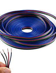 cheap -10M 4-Pin RGB Extension Cable Wire Cord for 5050 3528 Color Changing Flexible LED Strip Light