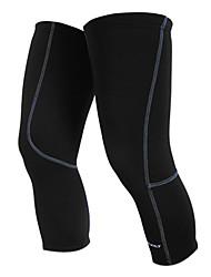 cheap -1 Pair Nuckily Leg Warmers / Knee Warmers Solid Color Lightweight Sunscreen UPF 50 Bike Black for Men's Women's Adults' Road Bike Mountain Bike MTB Running / Road Bike Cycling / UV Resistant