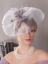 cheap -Silk Kentucky Derby Hat / Headbands with 1 Wedding / Special Occasion / Outdoor Headpiece