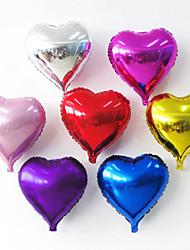 Недорогие -Товары для вечеринки Воздушные шары Игрушки Круглый Сердце Надувной Для вечеринок Не указано Куски