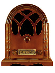 cheap -Music Box Vintage Creative Retro Novelty Gift Wood