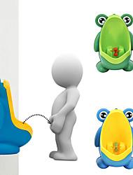 cheap -1pc Frog Children Potty Toilet Training Kids Urinal For Boys Pee Trainer Bathroom
