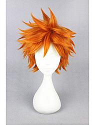 cheap -short haikyuu hinata syouyou orange 14inch anime cosplay wig cs 186k Halloween