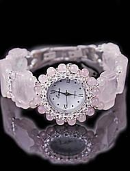 cheap -Women's Fashion Watch Quartz Jade Purple Analog Pink