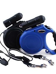 cheap -Dog Leash Adjustable / Retractable Solid Colored Nylon Black Dark Blue
