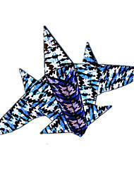 cheap -Kite Nylon Kite Flying Kite Festival Outdoor Beach Park Plane / Aircraft Fighter Aircraft Shark Novelty DIY Big Gift Kid's Adults Men's Women's Unisex