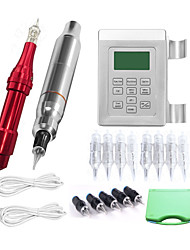 cheap -Makeup Kit Eyebrows Lips Eyeliners Body Tattoo Machines 4 Round Liner