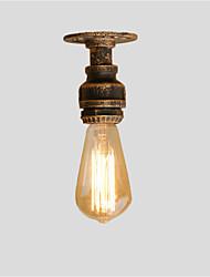 Недорогие -11 см лофт мини ретро промышленный стиль водопроводная труба полу скрытого монтажа свет ресторан кафе бар светильник