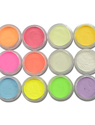 cheap -12bottle-set-hot-fashion-colorful-nail-art-neon-pigment-powder-fluorescent-glitter-powder-glow-in-dark-nail-art-diy-beauty-pigment-ys01-12