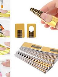 cheap -100pcs Nail Art Tool Durable nail art Manicure Pedicure Simple / Classic Daily