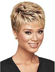 cheap -Synthetic Wig Straight Rihanna Straight Bob Short Bob Wig Short Blonde Synthetic Hair Women's Black