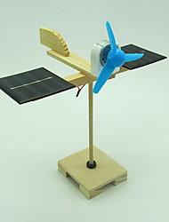 Недорогие -Игрушки на солнечной батарейке Обучающая игрушка Барабанная установка Солнечная батарея Своими руками Мальчики Девочки Игрушки Подарок