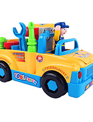 Недорогие -HUILE TOYS 1:16 Игрушечные машинки Playsets автомобиля Обучающая игрушка Автомобиль Грузовик Грузовик Строительная техника Классический Электрический пластик ABS / Дети