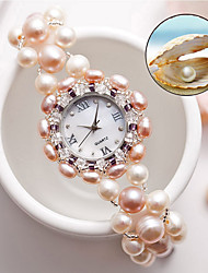 cheap -Women's Fashion Watch Quartz Analog White / Jade
