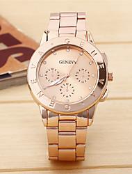 cheap -Women's Fashion Watch Quartz Silver / Gold / Rose Gold Analog Casual - Rose Gold Gold Silver