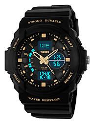 Недорогие -skmei 0955 цифровые часы с поддержкой календаря / хронографа / будильника напольные водонепроницаемые часы с хронографом