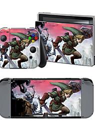 Недорогие -B-SKIN Nintendo Switch / NS Стикер Назначение Nintendo Переключатель ,  Портативные / Оригинальные Стикер Винил 1 pcs Ед. изм