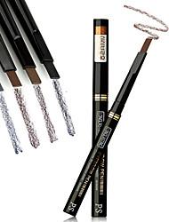 abordables -Crayons à Sourcils Stylos & Crayons Maquillage Œil Sec Mat Lueur Etanche Etendu Dense 4 couleurs Cosmétique Accessoires de Toilettage
