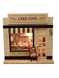 abordables -CUTE ROOM Maison de Poupées Kit de Maquette A Faire Soi-Même Meuble Maison En bois Classique Enfant Jouet Cadeau