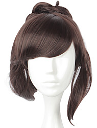 cheap -Cosplay Cosplay Cosplay Wigs Men's Women's 20 inch Heat Resistant Fiber Brown Brown Anime