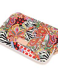 Недорогие -Рукава Цветы текстильный для MacBook Pro, 13 дюймов / MacBook Air, 11 дюймов / MacBook Air, 13 дюймов