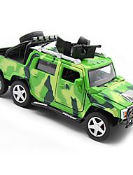 abordables -Petites Voiture Véhicule Militaire SUV Chariot Classique Musique et Lumière Garçon Fille Jouet Cadeau