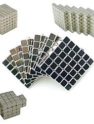 Недорогие -216 pcs 3mm Магнитные игрушки Магнитный конструктор Конструкторы Сильные магниты из редкоземельных металлов Неодимовый магнит Магнит Куб Неодимовый магнит / Стресс и тревога помощи