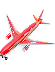 cheap -CAIPO 777 Toy Airplane Airplane Model Plane / Aircraft Simulation Music & Light Metal Alloy for Kid's Adults Teenager Boys' Girls'