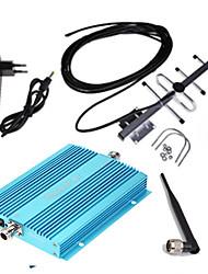 Недорогие -Усилитель сигнала сотового телефона GSM 900 мГц для дома и здания Мобильный ретранслятор сигнала GSM антенна Yagi комплект ul 890-915 МГц дл 935-960 МГц