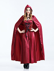 cheap -Fairytale Cosplay Costume Women's Halloween Carnival New Year Festival / Holiday Terylene Women's Carnival Costumes Solid Colored