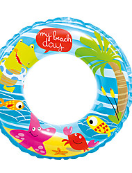 cheap -Donut Pool Float Swim Rings Inflatable Pool Thick PVC(PolyVinyl Chloride) Summer Duck Pool Men's Women's Kid's Adults'