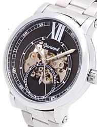 cheap -Men's Fashion Watch Quartz Silver Analog Casual - Silvery / White Gold / White Black / Silver