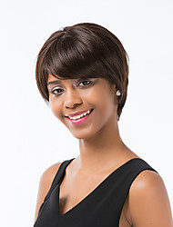 cheap -Ethereal   Linen Short Hair Human Hair Wig For Women