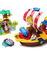 cheap -Building Blocks Construction Set Toys Educational Toy 1 pcs Ship Pirates compatible Legoing Boys' Girls' Toy Gift
