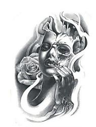 Недорогие -1 pcs Временные татуировки Водонепроницаемый / Non Toxic плечо Временные тату