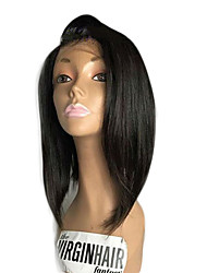 cheap -new fashion brazilian virgin hair bob wigs lace front human hair wigs straight short remy hair bob wig for black woman