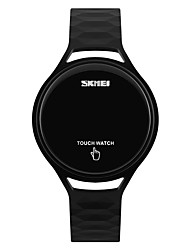 cheap -SKMEI Sport Watch Wrist Watch Digital Digital Ladies Water Resistant / Waterproof Cool / Two Years / Silicone / Japanese