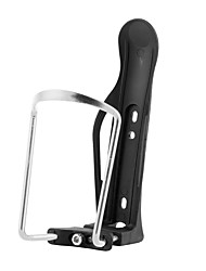 cheap -Bike Water Bottle Cage Portable For Cycling Bicycle Road Bike Mountain Bike MTB Folding Bike Aluminium Alloy