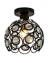 abordables -cristal moderne style mini peinture métal encastré montage salon chambre salle à manger luminaire