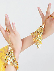 cheap -Belly Dance Dance Glove Women's Performance Metal Sequin Bracelets