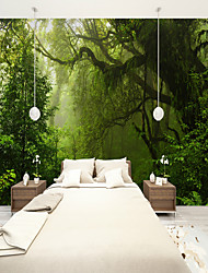 cheap -Forest Old Tree Custom 3D Large Wall Covering Mural Wallpaper Fit Restaurant Bedroom Office Landscape
