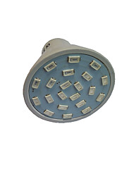 cheap -1.5 W LED Grow Lights 250 lm GU10 GU5.3(MR16) E27 MR16 21 LED Beads SMD 5733 Red Blue 220 V 110 V / 1 pc / RoHS