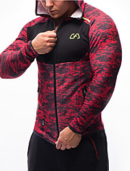 cheap -Men's Running Shirt Slim Running Exercise & Fitness Leisure Sports Sweatshirt Top Long Sleeve Activewear Compression Comfortable High Elasticity