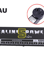 cheap -Caline CP-05 Power Supply for Effect Pedal with Blue LED Light Black plug is AU standard