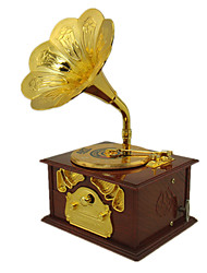 cheap -Music Box Vintage Phonograph Unique Plastic Metal Women's Unisex Girls' Kid's Adults Graduation Gifts Toy Gift