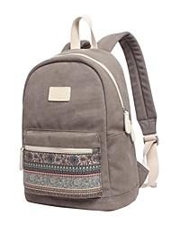 """Недорогие -15 """"Ноутбук Рюкзаки холст Богемный стиль / Разные цвета для делового офиса для колледжей и школ для путешествия Водостойкий Противоударное покрытие"""