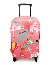 cheap -Luggage Cover Dust Proof Polyester Blushing Pink Travel Accessory